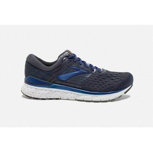 Brooks Transcend 6 Ebony Blue Mandarin Shoes
